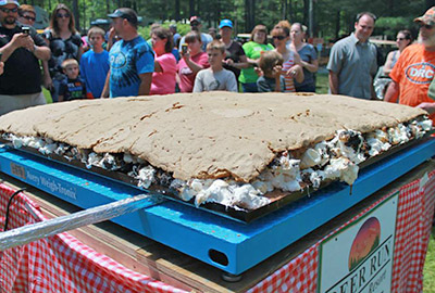 World's Largest Smore!