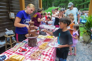 Deer Run Campground Chocolate Fountain