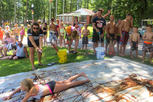 Deer Run Campground Slip N' Slide