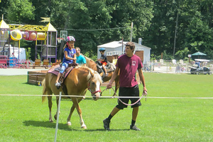 Deer Run Campground Pony Ride
