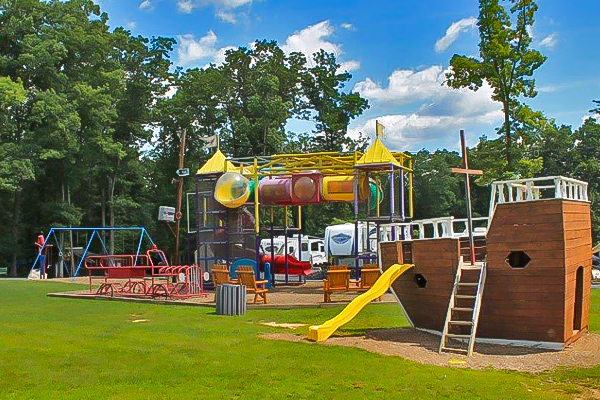Deer Run Campground Big Playground