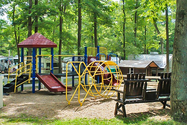 Deer Run Campground Smaller Playground
